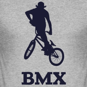 BMX - Slim Fit T-skjorte for menn