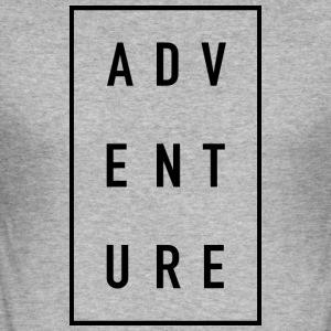 ADVENTURE - Herre Slim Fit T-Shirt