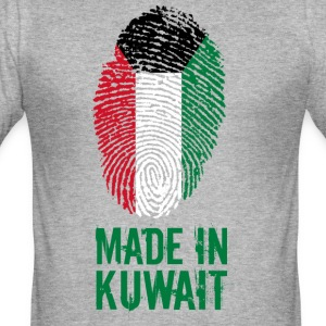 Made in Kuwait / الكويت - Männer Slim Fit T-Shirt