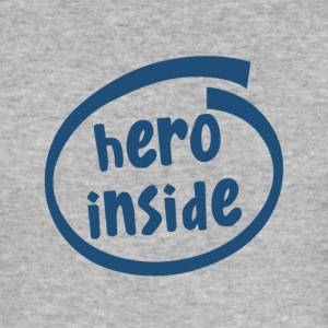 hero inside (1802C) - Männer Slim Fit T-Shirt