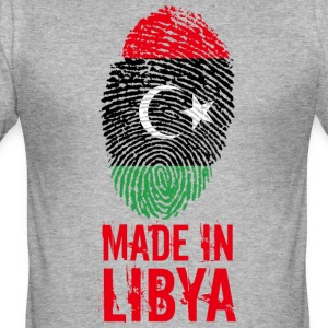 Made in Libya / Made in Libya ليبيا - Men's Slim Fit T-Shirt