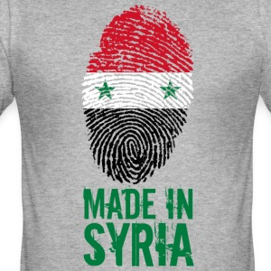 Fabriqué en Syrie / Made in Syrie الجمهورية - Tee shirt près du corps Homme