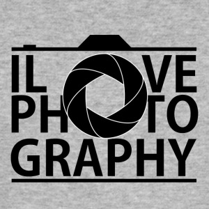 I Love Photografy - Men's Slim Fit T-Shirt