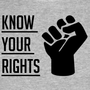 Know Your Rights - Maglietta aderente da uomo