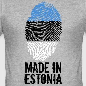 Made in Estonia / Made in Estonia / Eesti - Men's Slim Fit T-Shirt