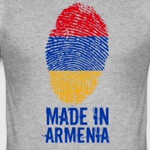 Made in Armenia / Gemacht in Armenien Հայաստան - Männer Slim Fit T-Shirt