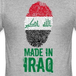 Laget i Irak / Made in Iraq العراق - Slim Fit T-skjorte for menn