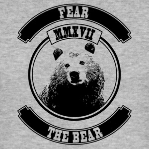 Fear the Bear - Men's Slim Fit T-Shirt