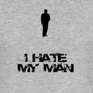 I hate him - Men's Slim Fit T-Shirt