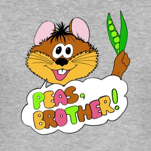 PEAS, BROTHER! - Männer Slim Fit T-Shirt
