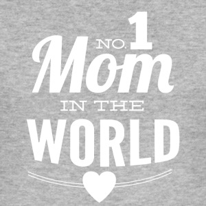 number 1 mom in the world black - Men's Slim Fit T-Shirt