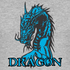 agry zoek dragon - slim fit T-shirt