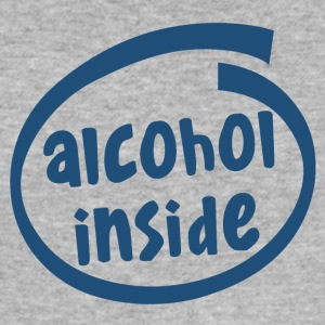 alcohol inside (1841C) - Men's Slim Fit T-Shirt