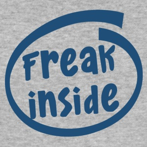 freak innsiden (1835C) - Slim Fit T-skjorte for menn
