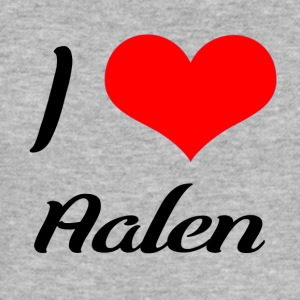 I love Aalen - Männer Slim Fit T-Shirt
