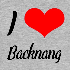 I love Backnang - Männer Slim Fit T-Shirt