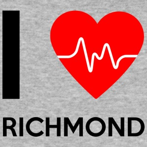 I Love Richmond - I love Richmond - Men's Slim Fit T-Shirt