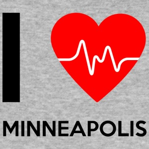 J'aime Minneapolis - I Love Minneapolis - Tee shirt près du corps Homme