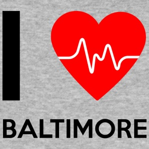 J'aime Baltimore - I Love Baltimore - Tee shirt près du corps Homme