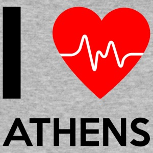 I Love Athens - I love Athens - Men's Slim Fit T-Shirt