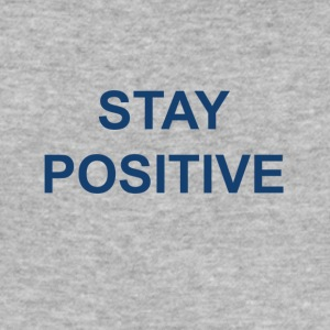 Stay positive - Slim Fit T-skjorte for menn