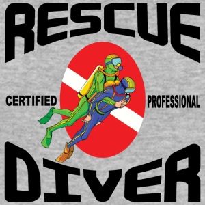 SCUBA Rescue Diver - Slim Fit T-shirt herr