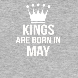 kings are born in may - Men's Slim Fit T-Shirt