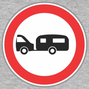 Road sign trailer - Men's Slim Fit T-Shirt