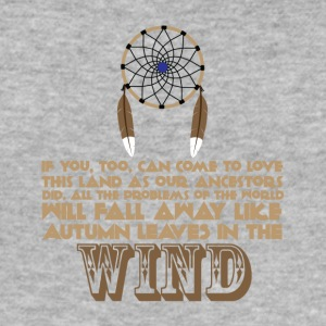Ancestry - Native American proverb - Men's Slim Fit T-Shirt