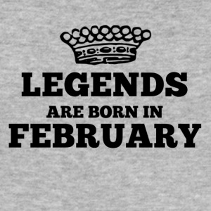 Legends are born in february - Men's Slim Fit T-Shirt