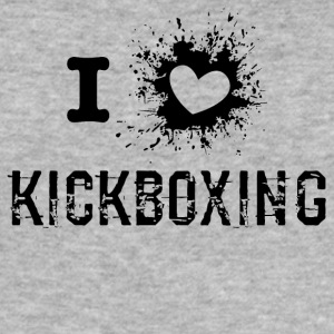 iLove Kickboxing - Slim Fit T-skjorte for menn