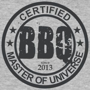 Certified BBQ Master 2013 Grillmeister - Men's Slim Fit T-Shirt