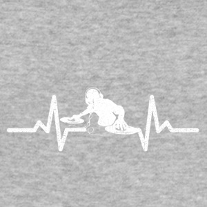 My heart beats for DJing - Men's Slim Fit T-Shirt