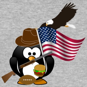 American Pinguin - Männer Slim Fit T-Shirt