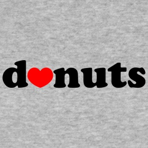 D♥nuts - Donuts - Männer Slim Fit T-Shirt