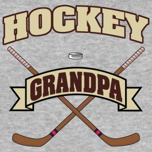 Hockey Grandpa - Men's Slim Fit T-Shirt