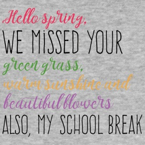 Spring Break / Spring Break: Spring Hallo, wij Misse - slim fit T-shirt