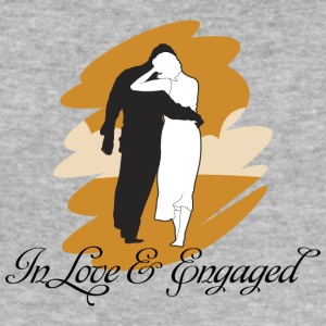 Engaged And In Love - Men's Slim Fit T-Shirt