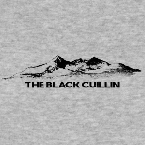 Black Cuillin - Men's Slim Fit T-Shirt