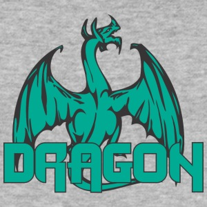 dragon back colored - Men's Slim Fit T-Shirt