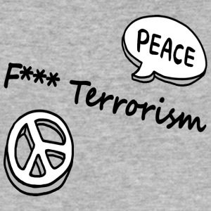 neuken terrorisme - slim fit T-shirt