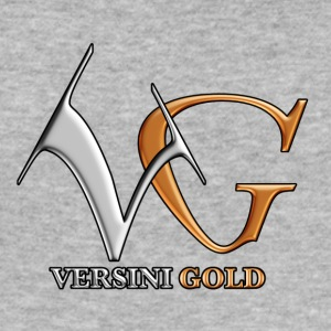VERSINI GOLD LOGO - Männer Slim Fit T-Shirt
