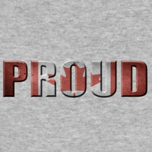PROUD CANADA CANADA PROUD - Men's Slim Fit T-Shirt
