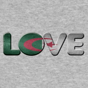 I LOVE ALGERIET Algeriet - Herre Slim Fit T-Shirt