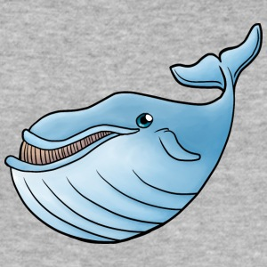 Little Blue Whale - Slim Fit T-shirt herr