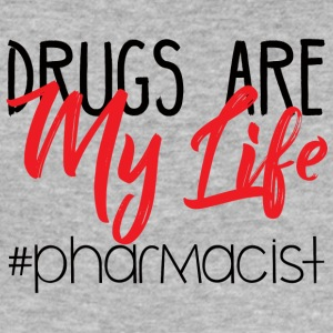 Pharmazie / Apotheker: Drugs Are My Life #pharmaci - Männer Slim Fit T-Shirt