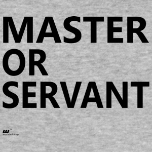 Master eller Servant - Slim Fit T-shirt herr