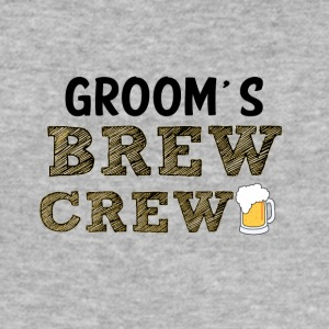 JGA / Bachelor: Brudgommens Brew Crew - Slim Fit T-skjorte for menn