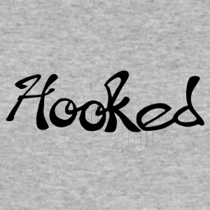 carballos_dise - o_hooked - Slim Fit T-shirt herr