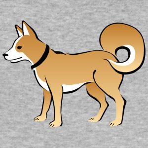 hund - Slim Fit T-shirt herr